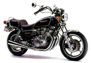 The venerable Suzuki GS750LX