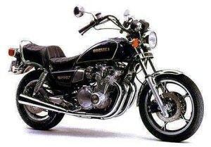 The venerable Suzuki GS750LX