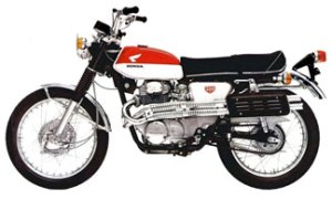My first ride: Honda CL350 Scrambler