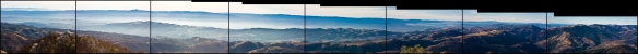 Mount Hamilton panorama