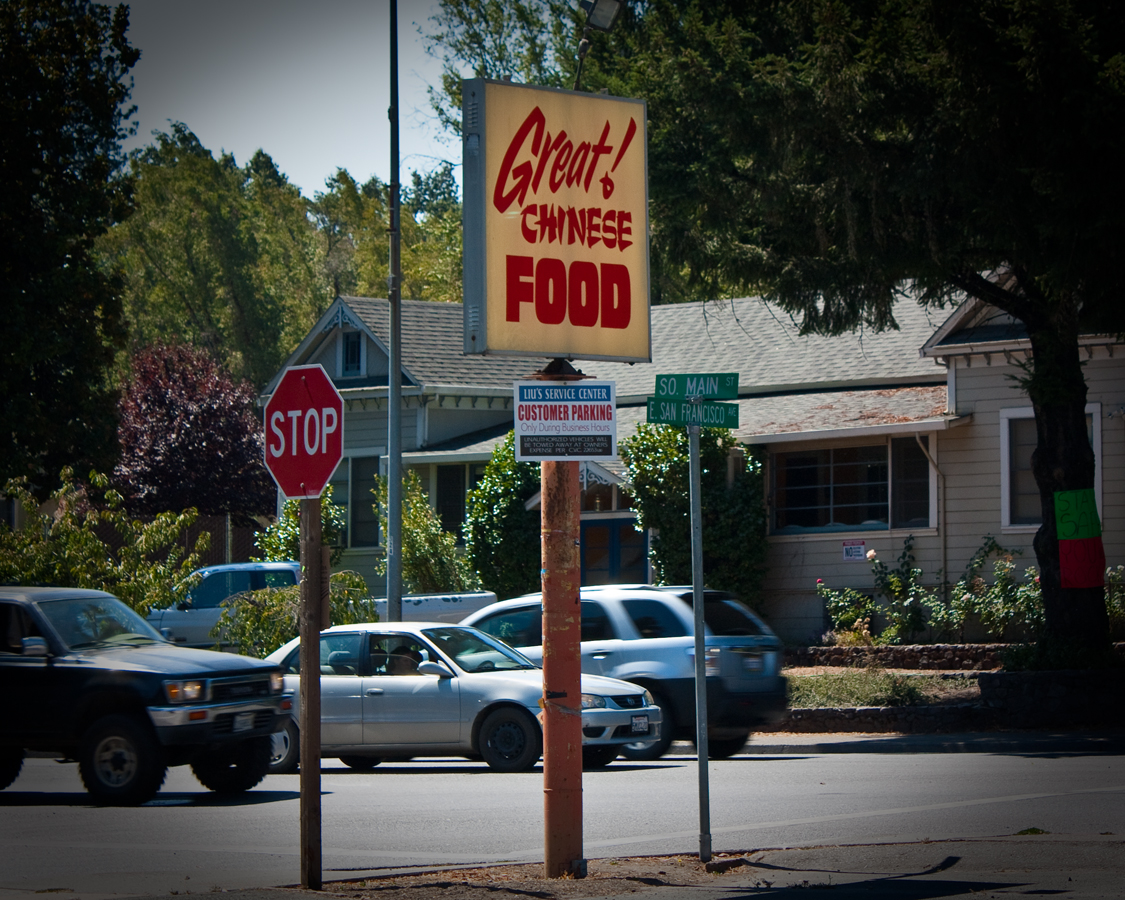 Chinese Food In Willits Ca