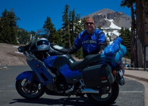 Me and MyConnie in Mt Lassen