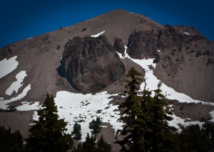 Vulcans Eye on Mt Lassen Peak