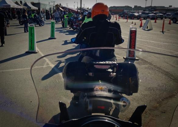 Demo ride on a Kawasaki Concours 1400 ABS