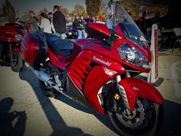 Kawasaki Concours 1400 ABS Demo ride