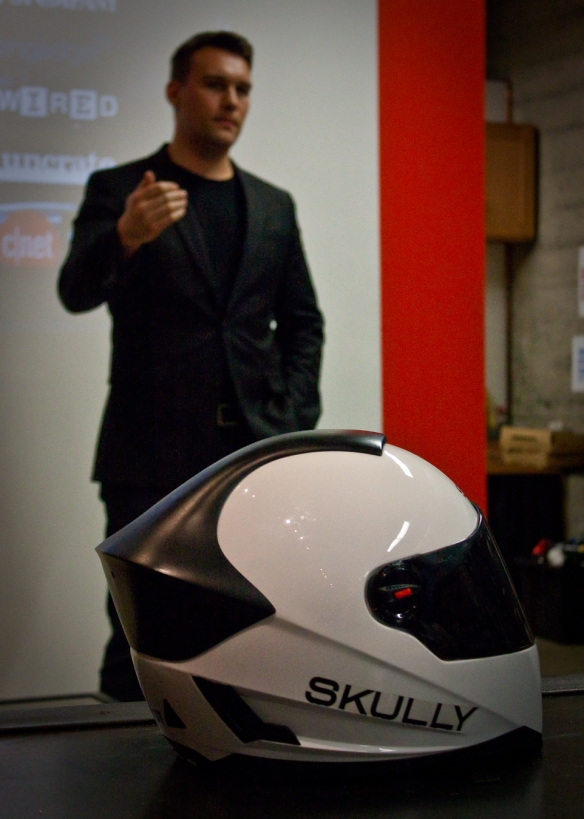 Skully Helmet and CEO Marcus Weller