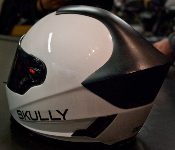 Skully Helmet - Rear