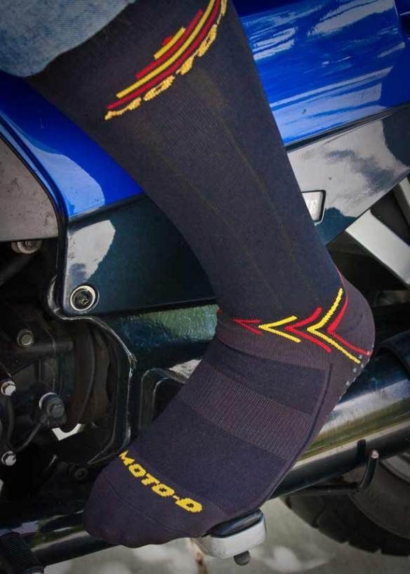MOTO-D CoolMax Motorcycle Socks